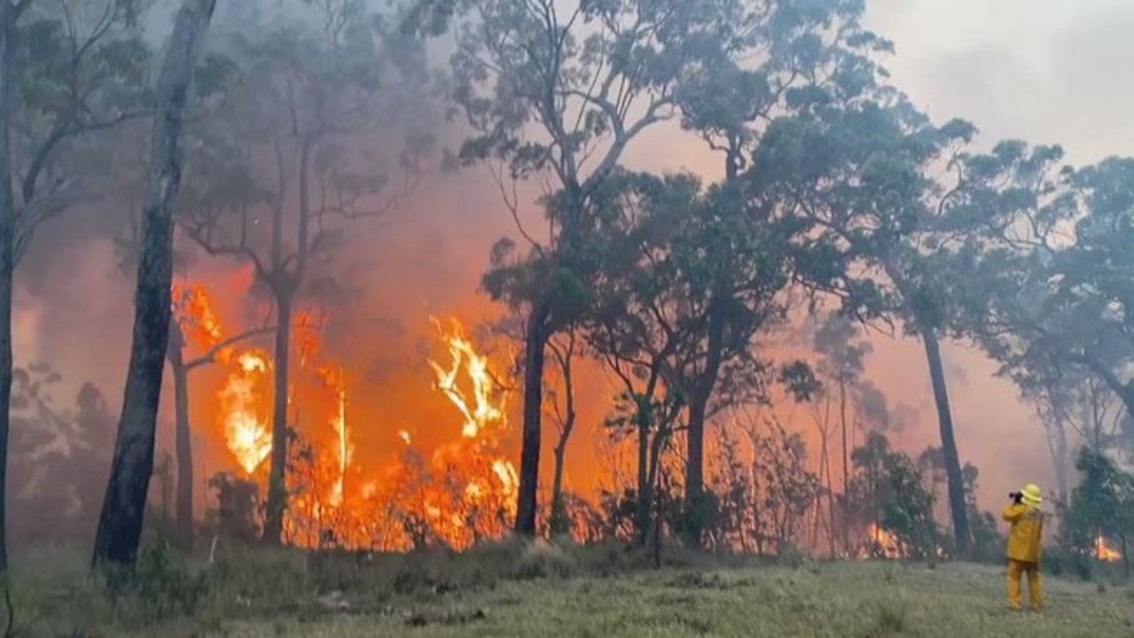 Emergency Warnings as Gospers Mountain Fire Burns Out of Control