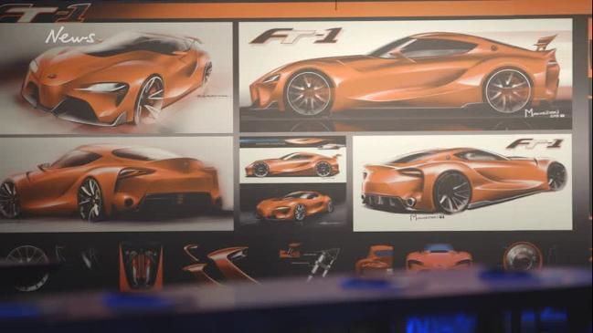 Toyota Calty design studio bosses in Sydney