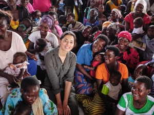 Jess Gomes on her experiences working with World Vision and meeting her sponsor child