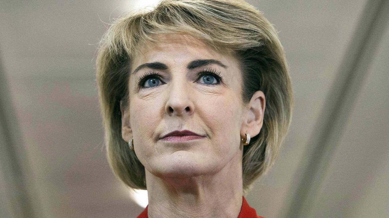 Senator Michaelia Cash denied that Ms Miller had been bullied in her office. Picture: NCA NewsWire/Gary Ramage
