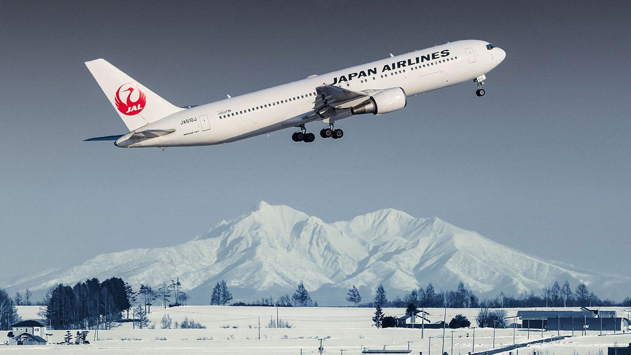 Japan Airlines regularly flies Australians from Melbourne to Tokyo.