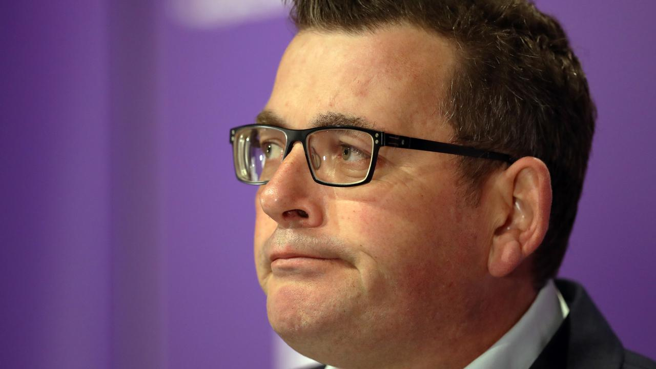The Victorian Premier said he wouldn't 'waste' his time with Mr Dutton. Picture: David Crosling/NCA Newswire