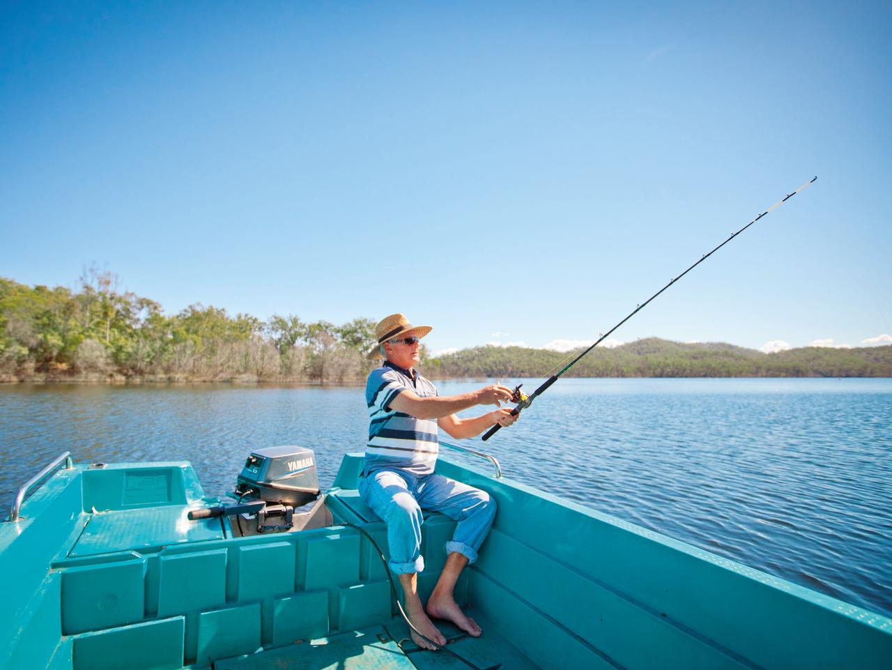 CM2 generic fishing Queensland Tourism supplied