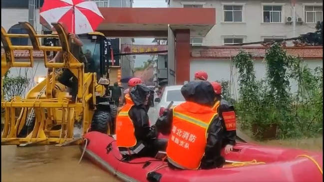 Residents Evacuated as Deadly Flooding Hits Hubei Province