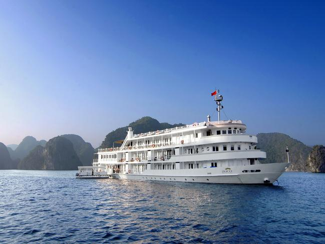 BHAYA CRUISE COMPANY For the ultimate in waterside stays make a reservation to cruise Ha Long Bay with Bhaya Cruise Company and embark on a two or three-day voyage that floats around the limestone islands rising from the emerald water with passengers swimming, kayaking, strolling, climbing and cycling around this acclaimed UNESCO location.                    — Sarah Nicholson