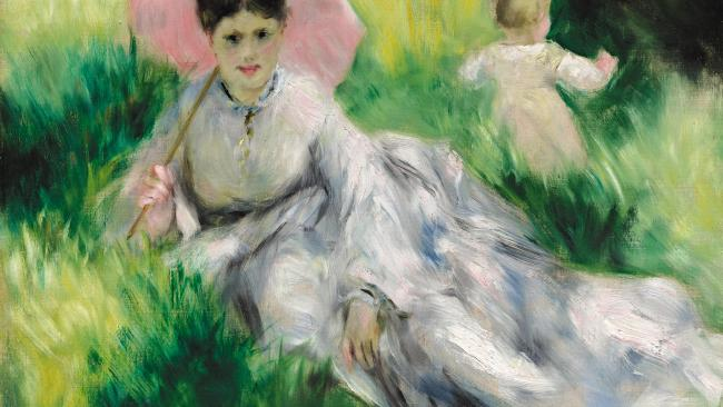 Renoir offers a taste of the French summer at NGV in Melbourne. Picture: Saravuth Neou