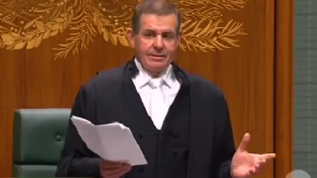 Slipper's emotional resignation as Speaker