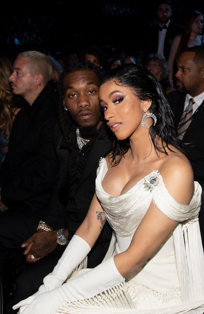 Cardi and Offset have a daughter together. Picture: Emma McIntyre/Getty Images for The Recording Academy