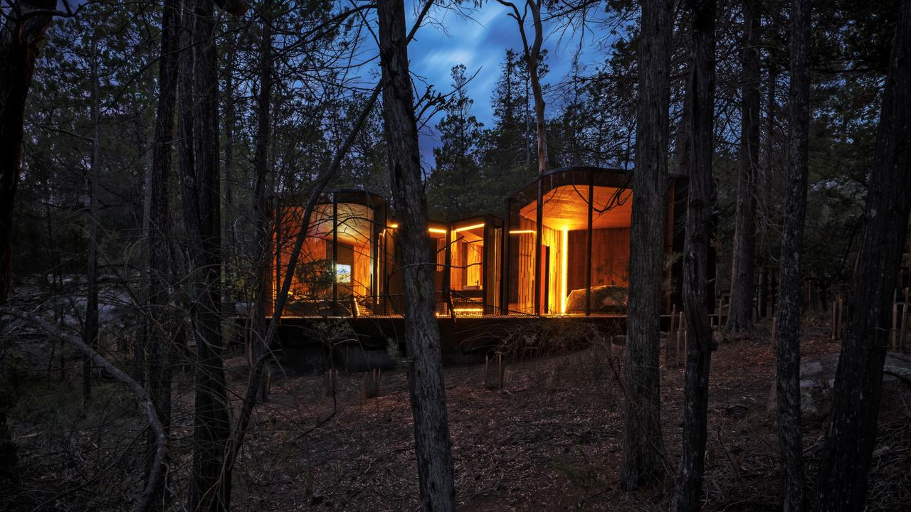 A stay at Freycinet Lodge in Tasmania was one of Kendall Hill's 2018 highlights. Picture: RACT Destinations