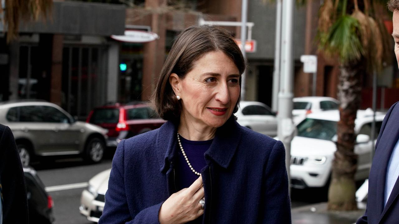 NSW Premier Gladys Berejiklian said Sydneysiders should see the display before judging it. Picture: AAP Image/Ben Rushton
