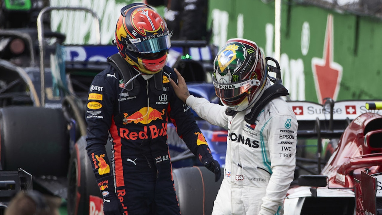 Hamilton refuses stewards' summons after robbing Albon of Brazil GP podium