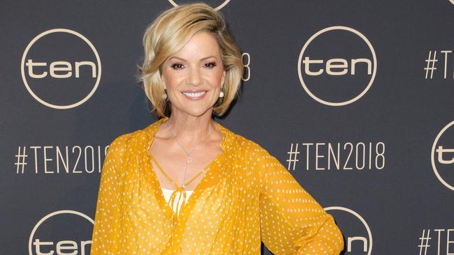 Sandra Sully at a Channel Ten event in Darling Harbour. Picture: Christian Gilles