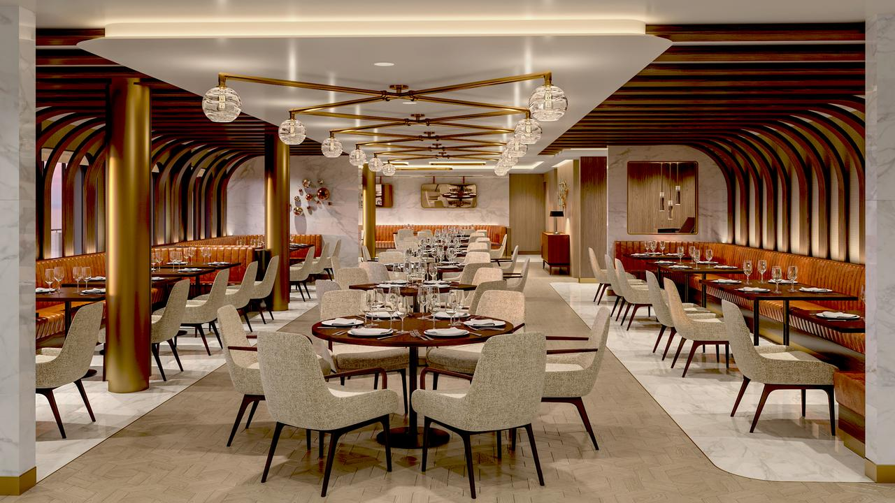 Onda by Scarpetta was the high-end option on-board the ship.