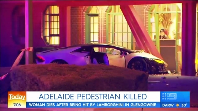 Teenager killed after being hit by Lamborghini (Today)
