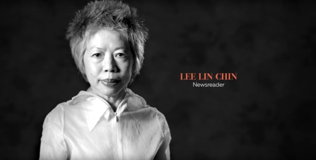 Lee Lin Chin appears in the new AFLW commercial.