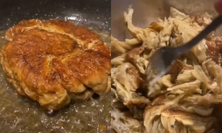 Would you try this TikTok two-ingredient vegan 'chicken'?