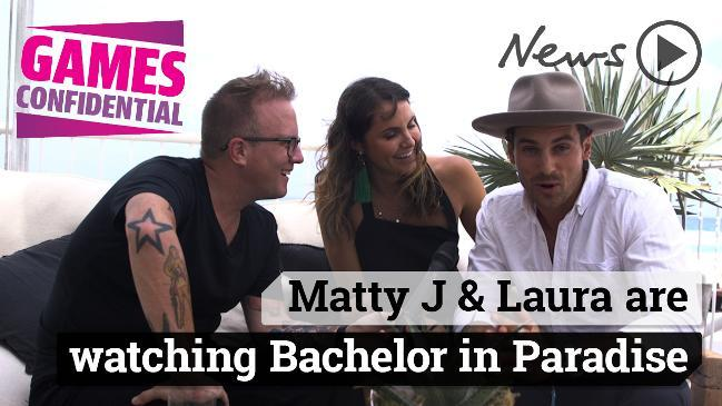 Matty J and Laura are watching Bachelor in Paradise