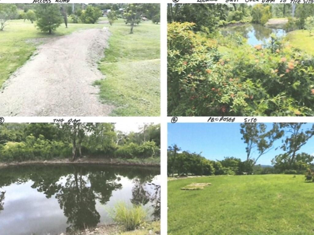 Photos of Nicholas Cronan's Bloomsbury property supplied to Mackay Regional Council.