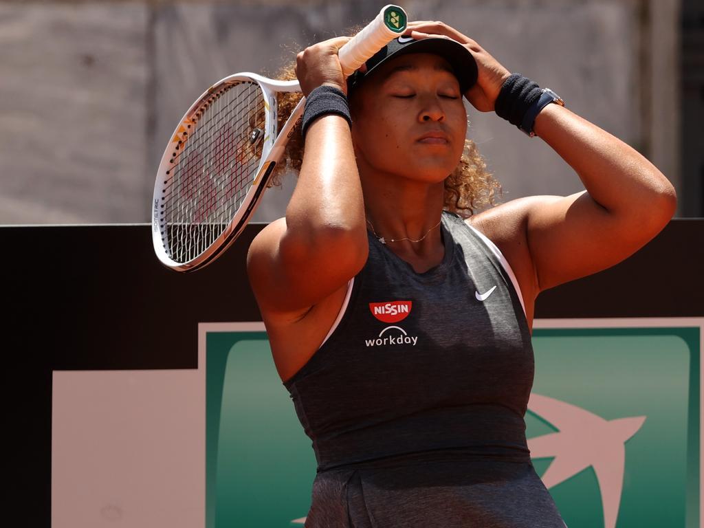 Osaka won the Australian Open in February.