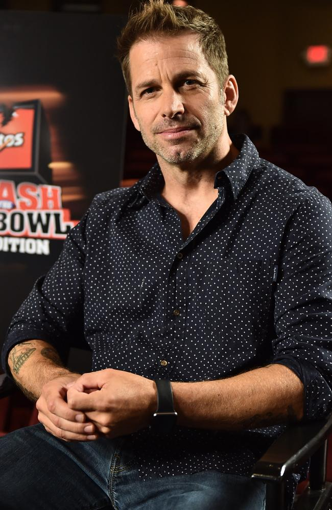 Director Zack Snyder. Picture: Jordan Strauss/Invision for Doritos/AP Images)