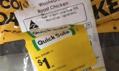 Woolworths hack to score $1 roast chicken