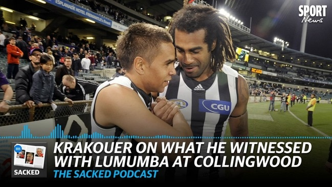 SACKED: Krakouer on what he witnessed with Heritier Lumumba at Collingwood