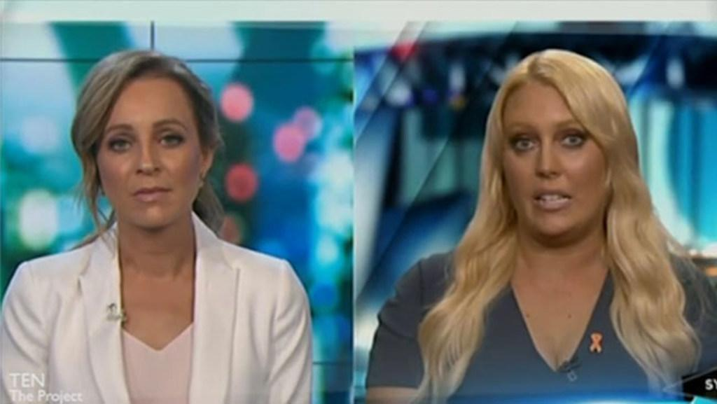 Mel Greig thanks Carrie Bickmore for her support during Royal Prank scandal
