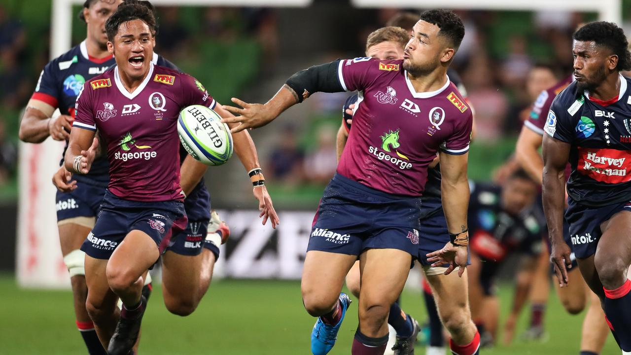 Hunter Paisami has been ruled out of the Reds' crucial match against the Brumbies on Saturday night. Photo: Getty Images