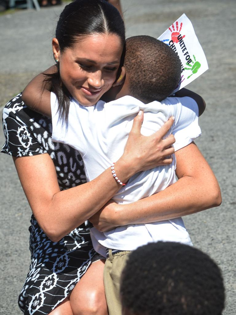 Meghan and her husband blew everyone away with their kindness. Picture: Pool/AFP