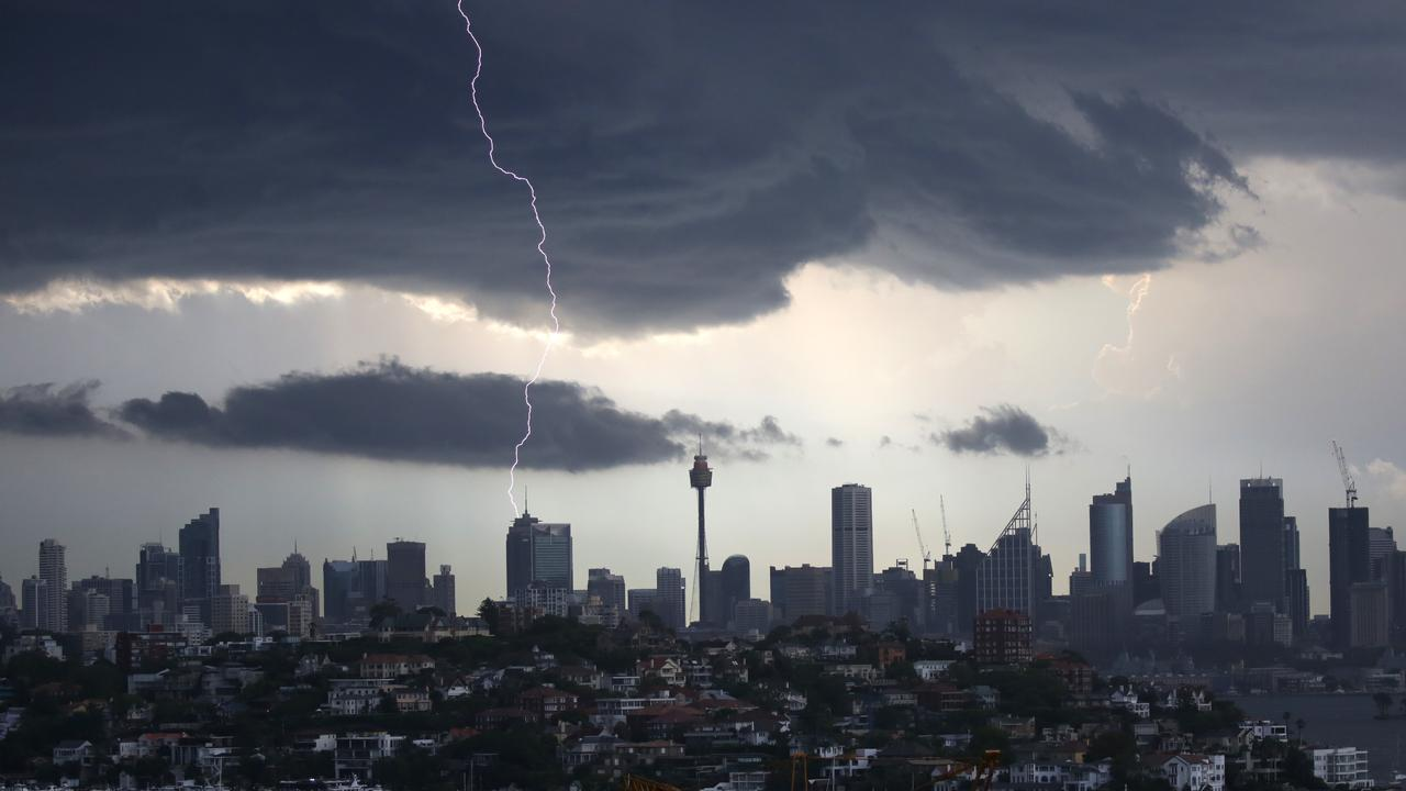 The trough that brought Sydney's wild storms is moving north towards Queensland. Picture: Christian Gilles