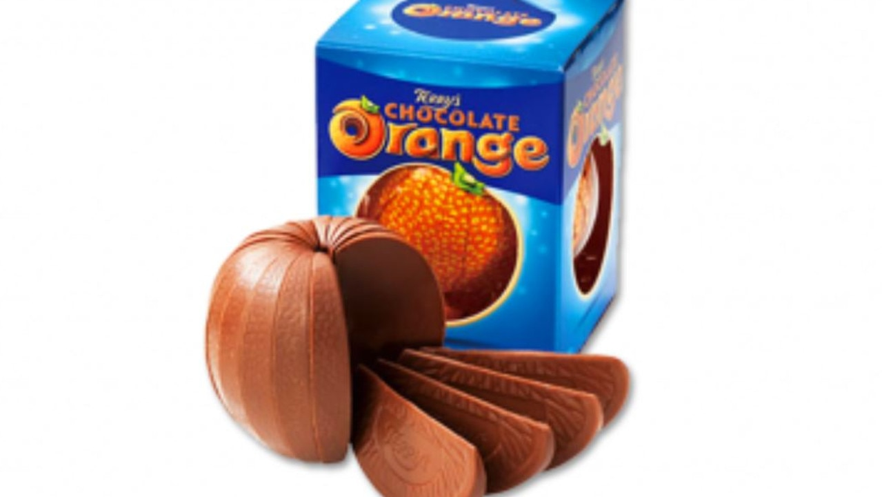 Chocolate orange hotel room opening