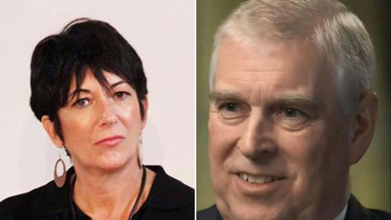 """Ms Giuffre alleges Ghislaine Maxwell (L) was Epstein's """"madam"""". Pictures:"""