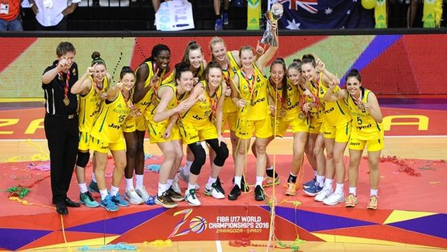 The world champion Sapphires (pic supplied by FIBA)