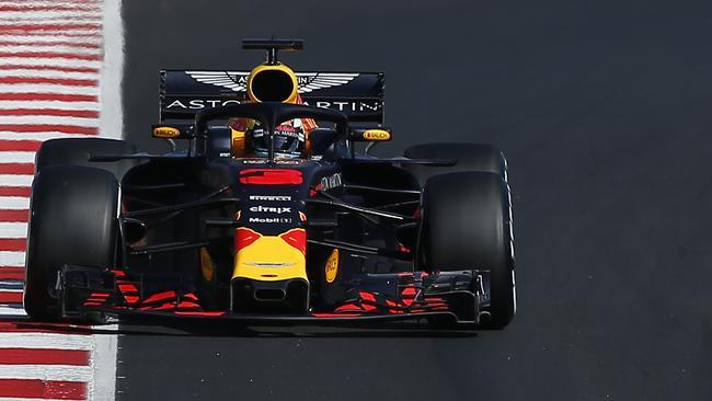 Red Bull's Max Verstappen is another serious challenger. (AP Photo/Manu Fernandez)