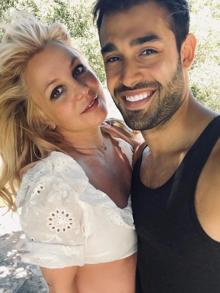 Britney and Sam.