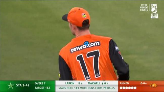 Wicket: Melbourne Stars, Glenn Maxwell - 23 Jan 21