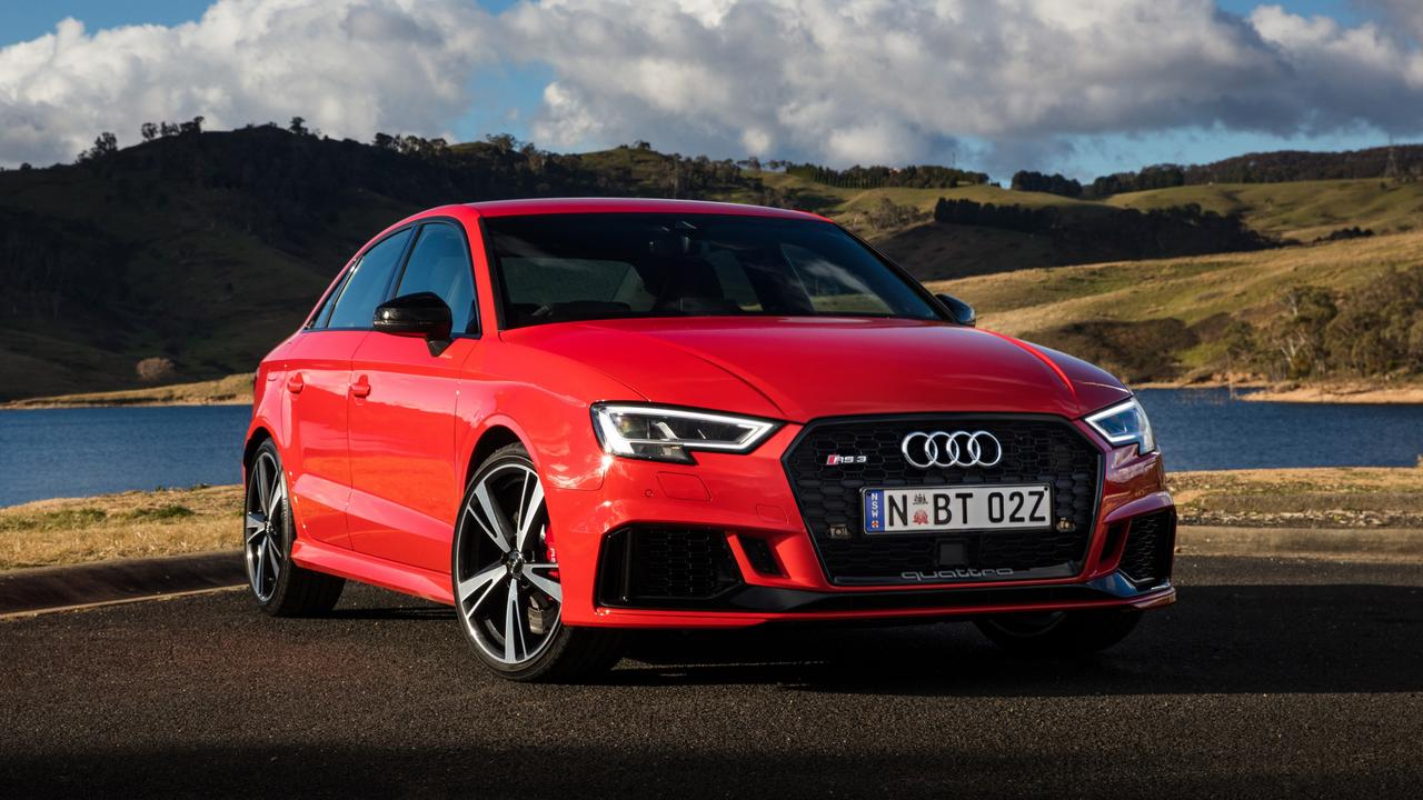 The Audi RS3 is one of the world's premier small performance cars.
