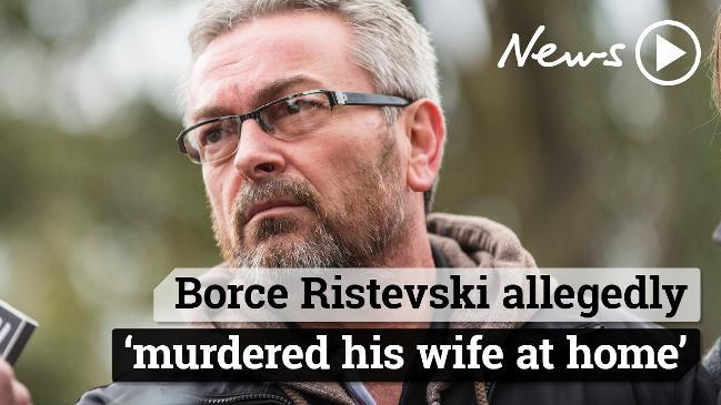 Borce Ristevski allegedly murdered his wife at home
