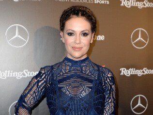 "Alyssa Milano says sexual harassers should be ""freaking out"". Image: Getty."