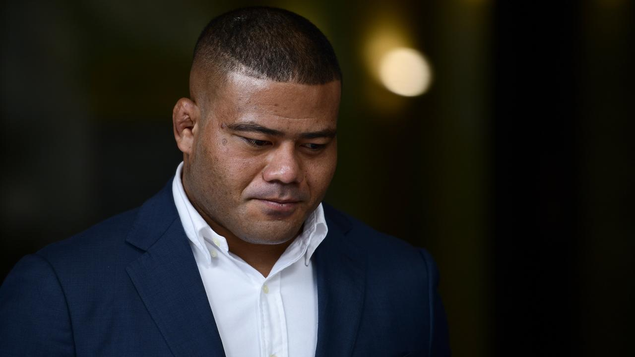 Waratahs hooker Tolu Latu banned for four games, fined $5000 by Rugby Australia for drink driving