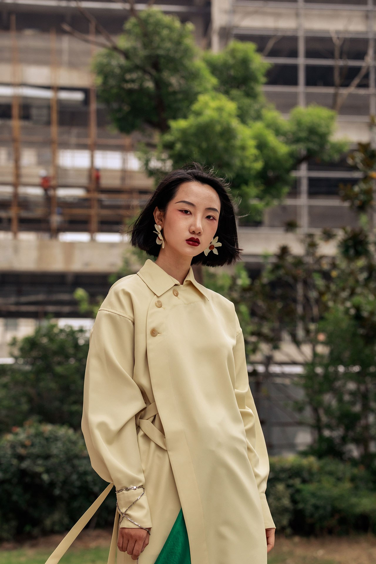 12 looks from Shanghai Fashion Week that confirm street style isn't dead