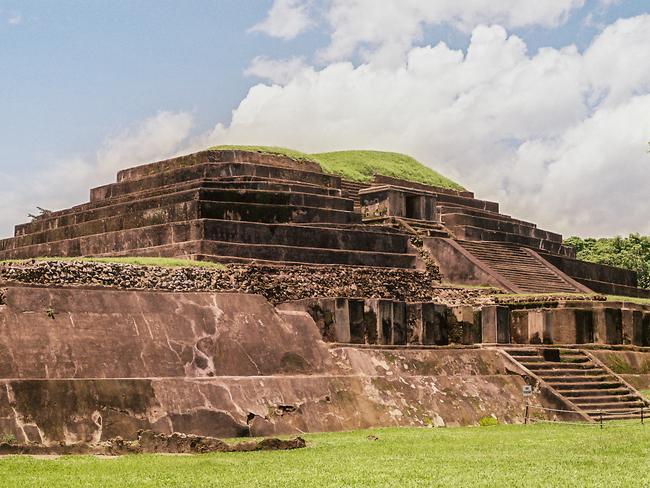 The ruins in El Salvador. Picture: Mani.rai
