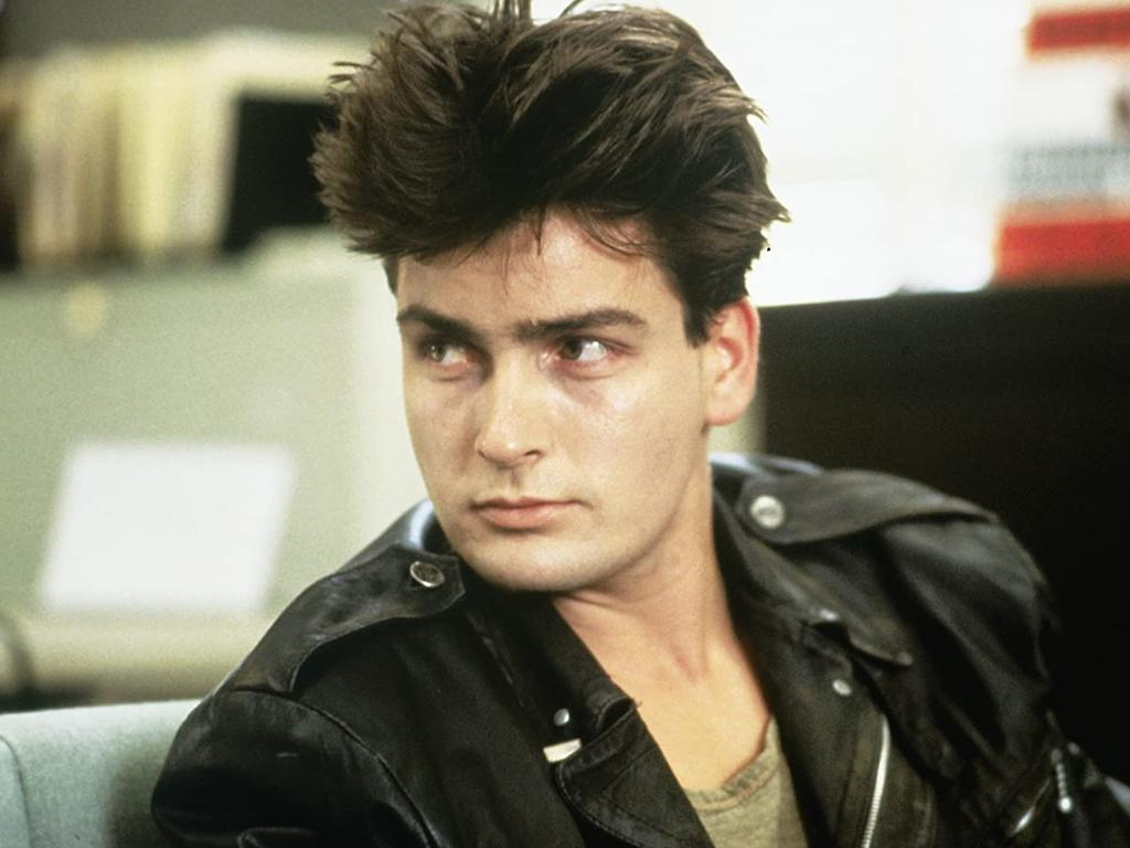Charlie Sheen in Ferris Bueller's Day Off way back in 1986. Picture: Supplied
