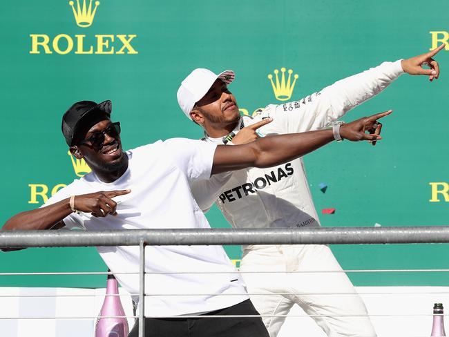 Lewis Hamilton is flattered by Ricciardo's Mercedes rumours.