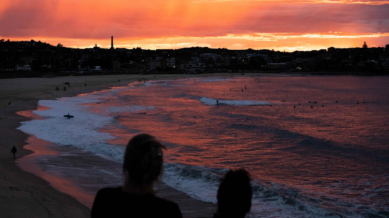Sydney was noticeably cooler on Tuesday. Picture: NCA NewsWire/James Gourley