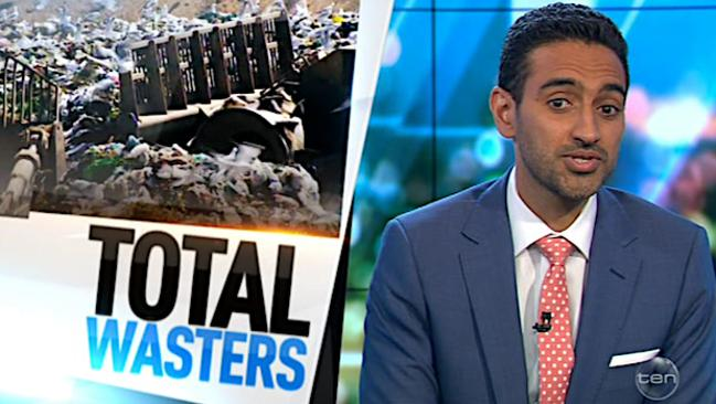 Waleed Aly calls for a ban on plastic bags on The Project.