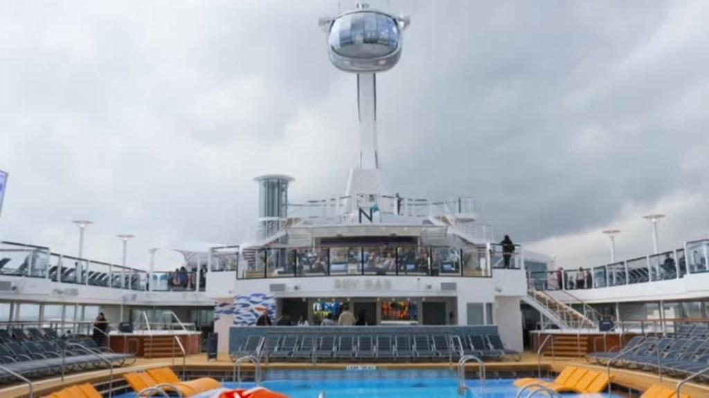 Royal Caribbean Cruises show off the amazing Ovation of The Seas