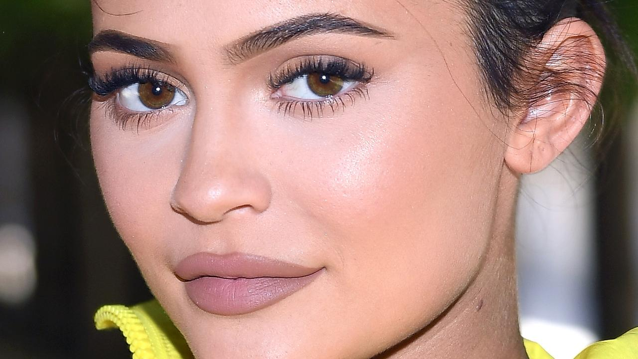 Kylie Jenner, pictured in Paris last month, has sported a Chanel bikini that's actually older than she is. Picture: Getty Images