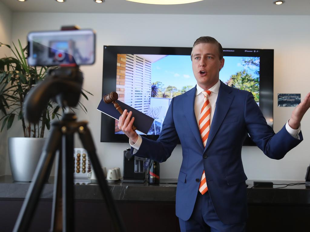 Virtual auctions during lockdown have produced huge sales results for sellers. Picture: David Swift