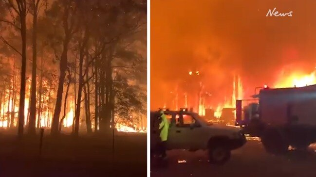 NSW fires overwhelm firefighters